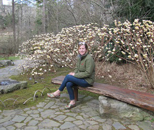 Beth, landscape designer