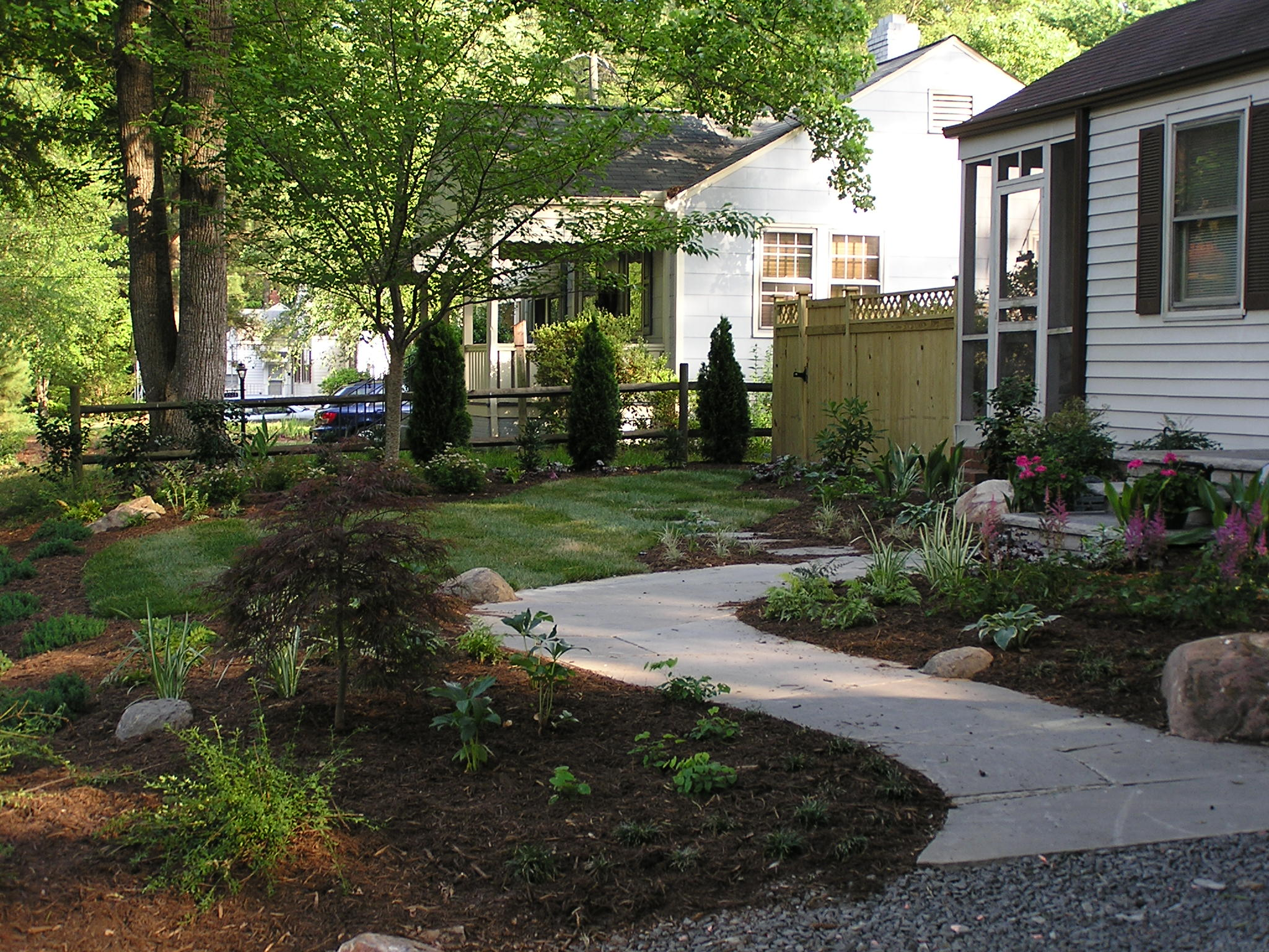 durham landscape design gallery. Black Bedroom Furniture Sets. Home Design Ideas