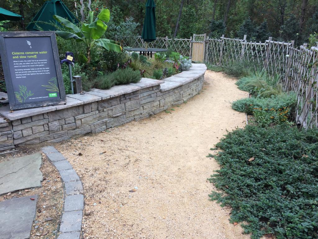 Walkway of Museum Garden