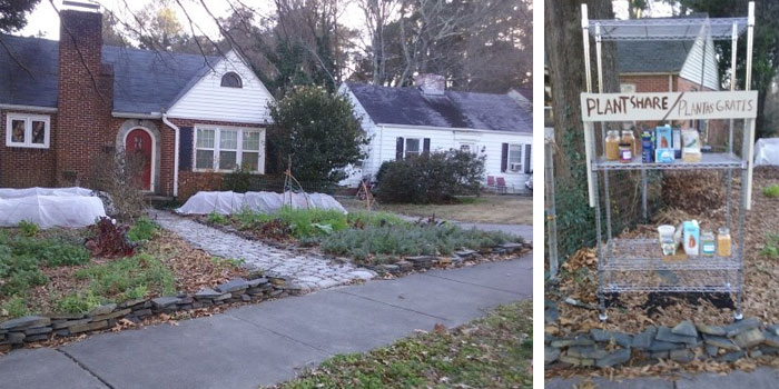 Edible Front Yard and Plant Share